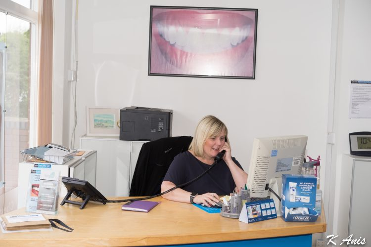 dental receptionist