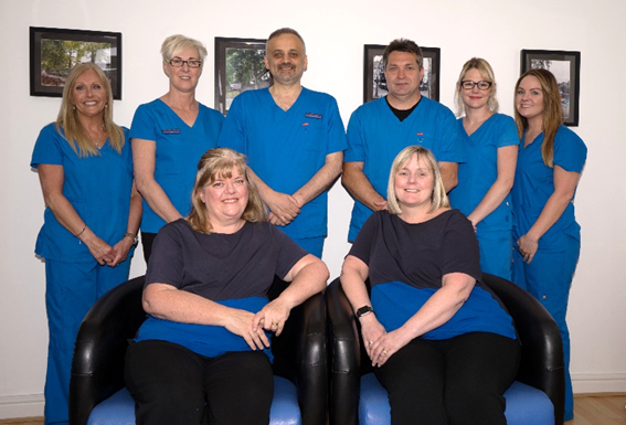 the dental team at chester